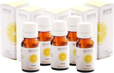 Aroma Treasures Orange essential Oil 10ml (Pack Of 5)