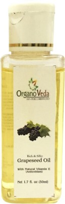 Organo Veda Pure Carrier Grape seed Oil