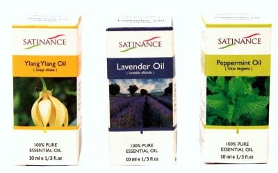 Satinance Ylang Ylang + Lavender + Peppermint Oils
