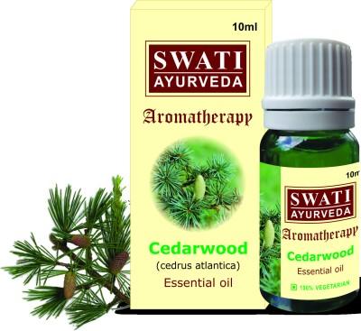 Swati Ayurveda Essential Oil Cedarwood (Cedrus Atlantica)