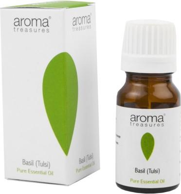 Aroma Treasures Basil - Tulsi Pure Essential Oil
