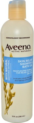 Aveeno Shower And Bath Oil With Natural Soothing Oatmeal