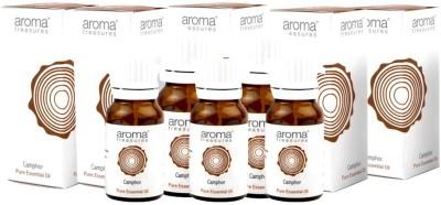 Aroma Treasures Camphor Essential Oil 10ml (Pack Of 5)