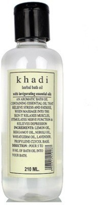 khadi Natural Herbal Bath Oil