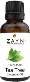 Zayns Tea Tree Essential Oil - 100% Pure & undiluted - Natural way for Skin, Hair and Acne care(10 ml)