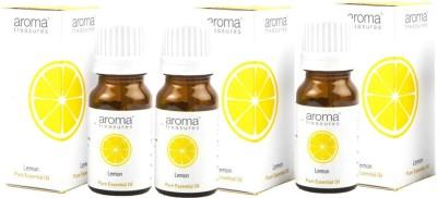 Aroma Treasures Lemon Essentail Oil 10ml (Pack Of 3)