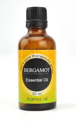 Karmakara 100% pure Therapeutic Grade undiluted essential oils in 50 ml Bottles-bergamot oil