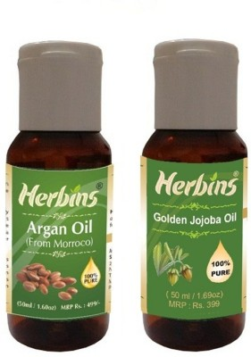 Herbins Essential Oil (Argan & Jojoba)