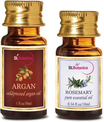 StBotanica Argan Oil (30ml) + Rosemary Pure Essential Oil (10ml)