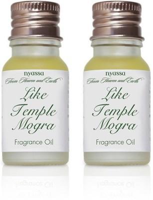 Nyassa Like Temple Mogra Fragrance Oil Pack Of 2