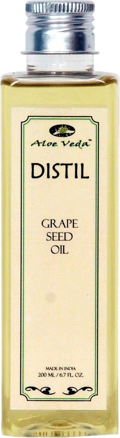aloe veda distil grape seed oil 200 ml best price in india as on 2018 january 12 compare. Black Bedroom Furniture Sets. Home Design Ideas
