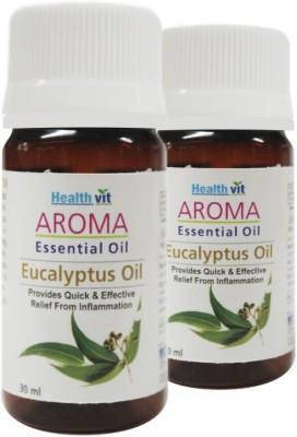 Healthvit Aroma Eucalyptus Essential Oil(Pack of 2)