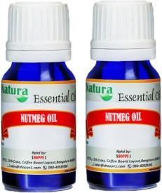 Natura Nutmeg (Myristica Fragrans) Natural Essential Oil pack of 2