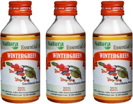 Natura Wintergreen (Gaultheria Procumbens) Natural Essential Oil pack of 3