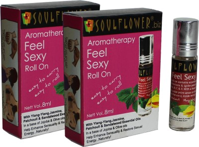 Soulflower Aromatherapy Feel Sexy Roll On - Pack of 2