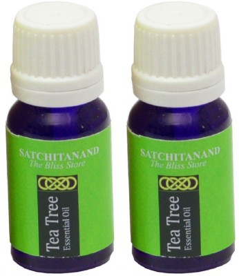 Satchitanand Tea Tree Essential Oil - Twin Pack
