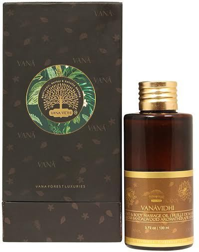 Vana Vidhi Luxurious Sandalwood Oil(100 ml)