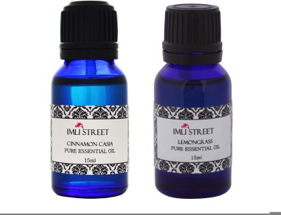 Imli Street Lemongrass & Cinnamon Casia Essential Oil