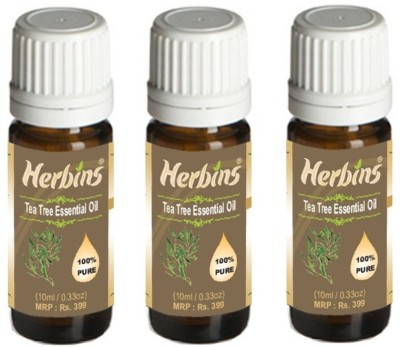 Herbins Tea Tree Essential Oil Combo - 3