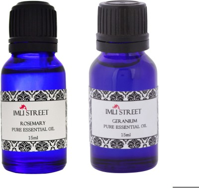 Imli Street Geranium & Rosemary Essential Oil