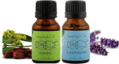 Olfa Jojoba Essential Oil & Lavender Essential Oil Combo(Pack Of 2) 15ml+15ml