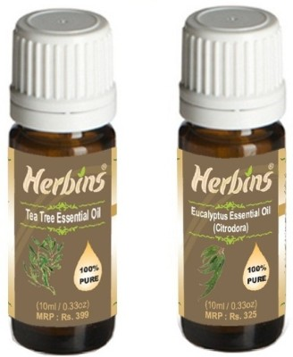 Herbins Essential Oil (Tea Tree & Eucalyptus)