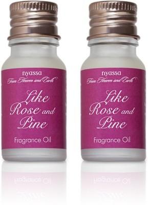 Nyassa Like Rose And Pine Fragrance Oil Pack Of 2