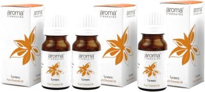 Aroma treasures Turmeric Essentail Oil 10ml (Pack Of 3)