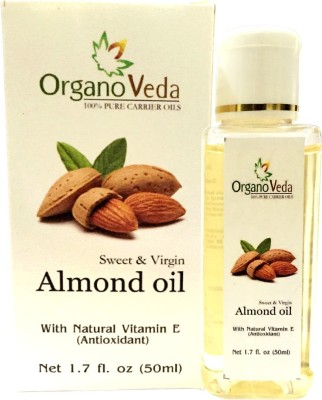 Organo Veda Pure Carrier Almond seed Oil