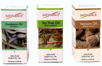 Satinance Eucalyptus + Tea Tree + Vetivert Oils