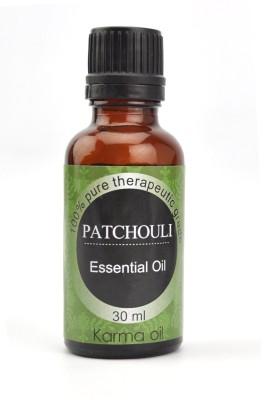 Karmakara 100% pure Therapeutic Grade undiluted essential oils in 30 ml Bottles-patchouli oil