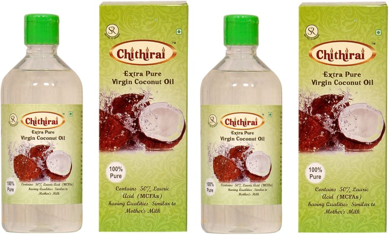 Chithirai Extra Pure Virgin Coconut Oil(1000 ml)