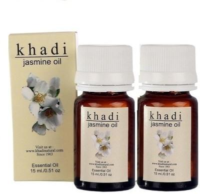 khadi Natural Jasmine Essnetial Oil - Pack of 2