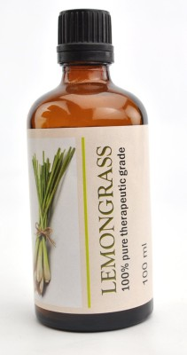 Karmakara 100% Pure Therapeutic Grade Undiluted Essential Oils In 100 Ml Bottles-Lemon Grass
