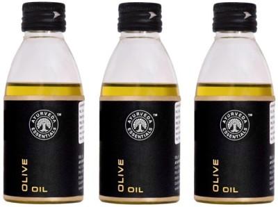 Ayurveda Essentials 100% Pure Natural Cold Pressed Virgin Olive Oil 100 ml(300 ml)