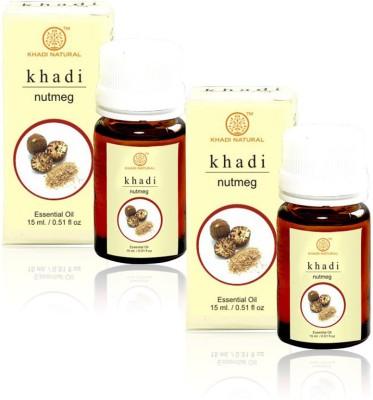 Khadi Natural Natural Nutmeg Essential Oil - 15ml (Set of 2)