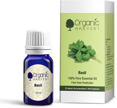 Organic Harvest Basil Essential Oil