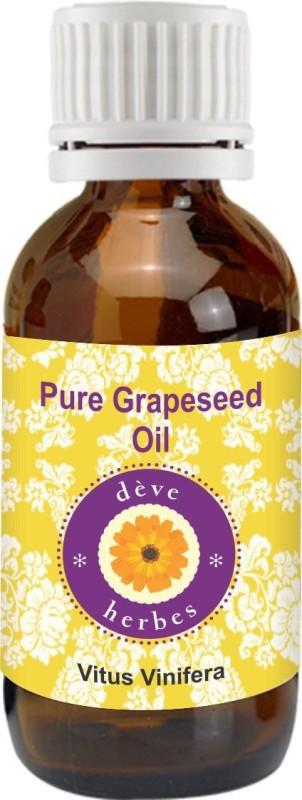 DèVe Herbes Pure Grapeseed Oil - Vitus Vinifera - 30ml(30 ml)