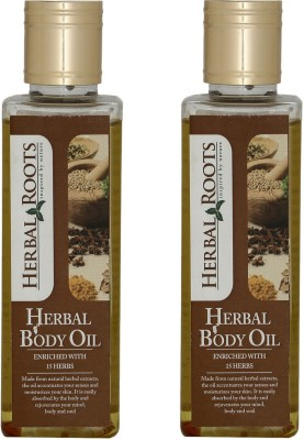 Herbal Roots Pain Relief, Anti Stress And Muscle Relaxant Body Massage Oil