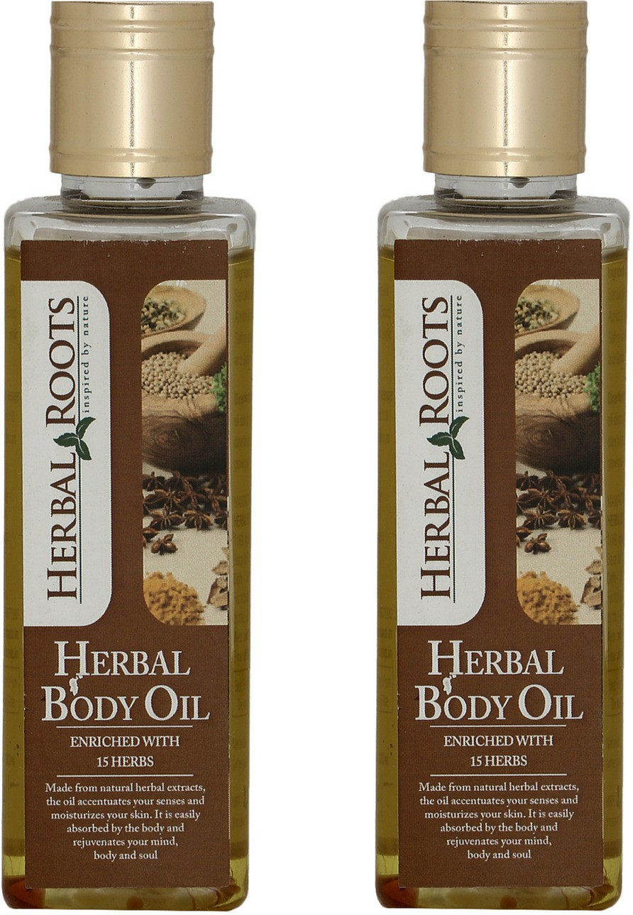 Herbal Roots Pain Relief, Anti Stress And Muscle Relaxant Body Massage Oil(200 ml)