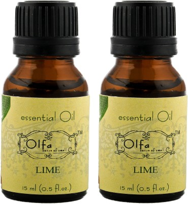 Olfa Lime Essential Oil Combo(Pack Of 2) 15ml+15ml