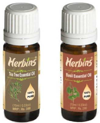Herbins Essential Oil (Tea Tree & Basil)