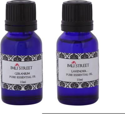 Imli Street Geranium & Lavender Essential Oil