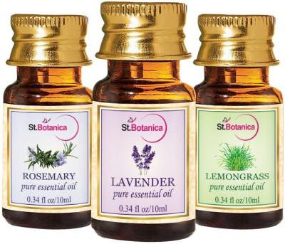 StBotanica Lavender + Lemongrass + Rosemary Pure Essential Oil