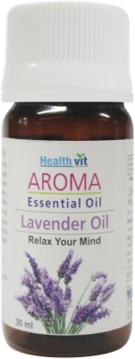 Healthvit Aroma Lavender Essential Oil Relaxes Mind