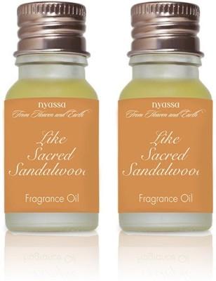 Nyassa Like Sacred Sandalwood Fragrance Oil Pack Of 2