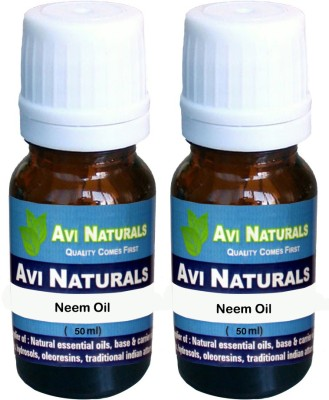 Avi Naturals Neem Oil(Pack of 2)