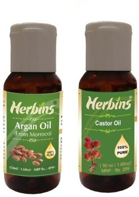 Herbins Essential Oil (Argan & Castor)