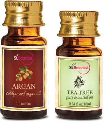 StBotanica Argan Oil (30ml) + Tea Tree Pure Essential Oil (10ml)