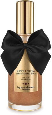 Bijoux Sunset Glow Dark Chocolate Shimmer Oil